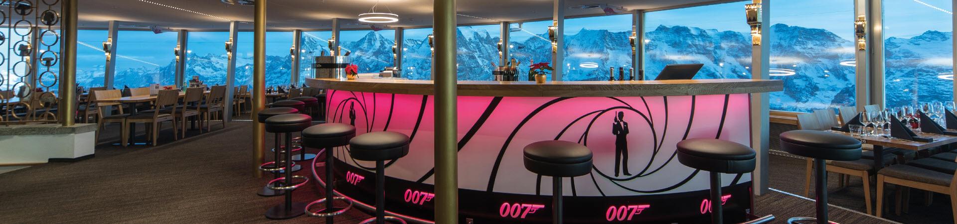 Drehrestaurant mit Bar